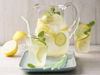 Perfect Frische Zitronen Limetten Limonade Das Rezept findet ihr auf wohnen