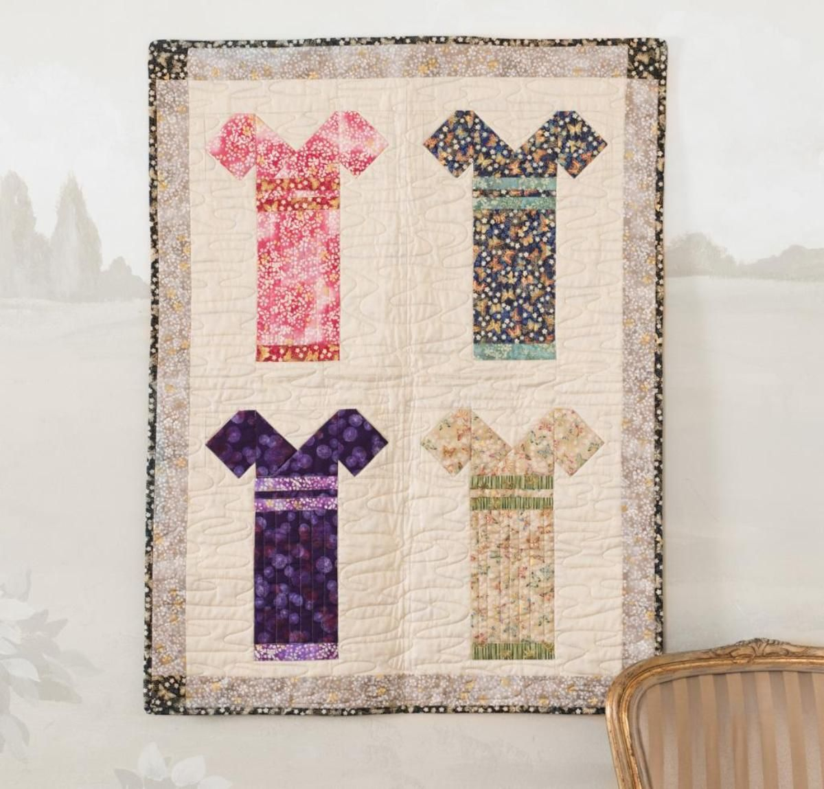 Kimonos Quilt Kit | Kimonos, Fabrics and Quilt top : fabric for quilting online - Adamdwight.com