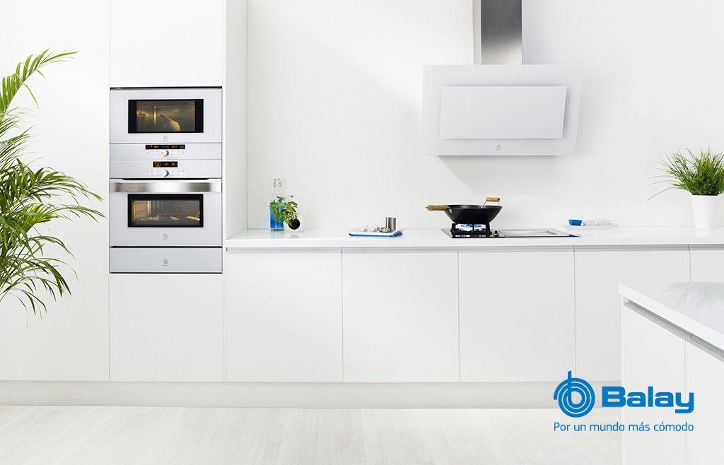 Electrodomesticos De Diseno Serie Cristal En Blanco De Balay