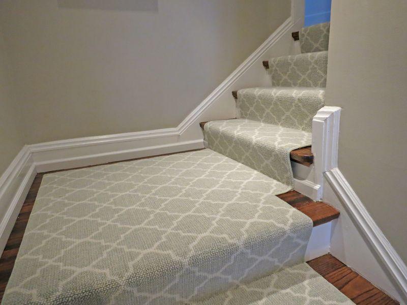 Waterfall Installation Carpet Stairs Finishing Basement Pooja Room Door Design