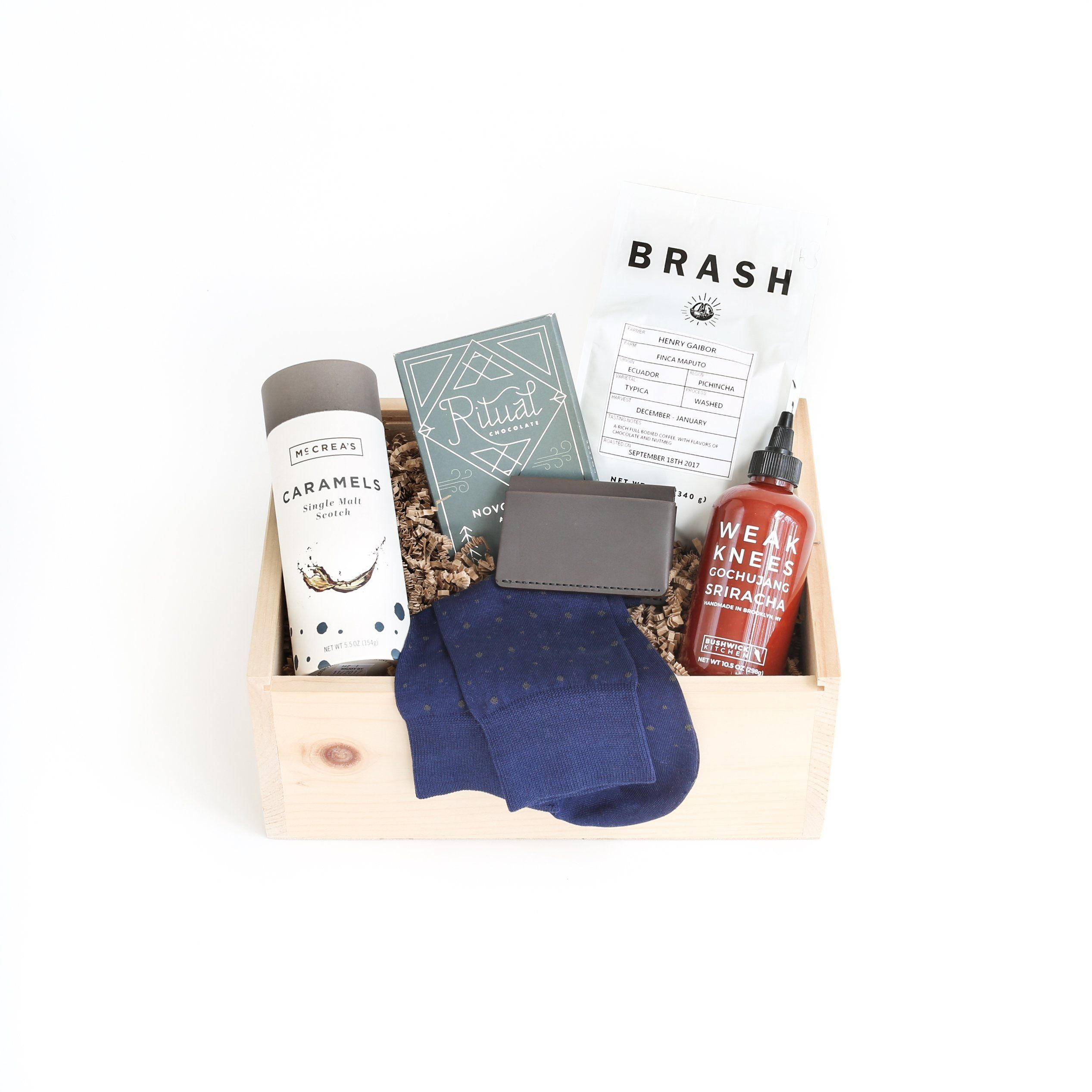Essentially his deluxe gift box curated gift boxes