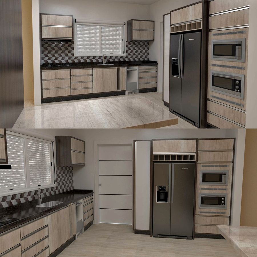 Cozinha Kitchen Por Np Interiores N Bia Proc Pio Interiores
