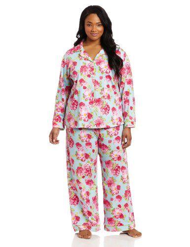 c3b9e093b1 BedHead Pajamas Women s Plus-Size Classic Knit