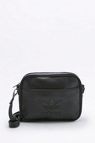 0330525c1bae adidas Originals Airliner Black Crocodile Clutch