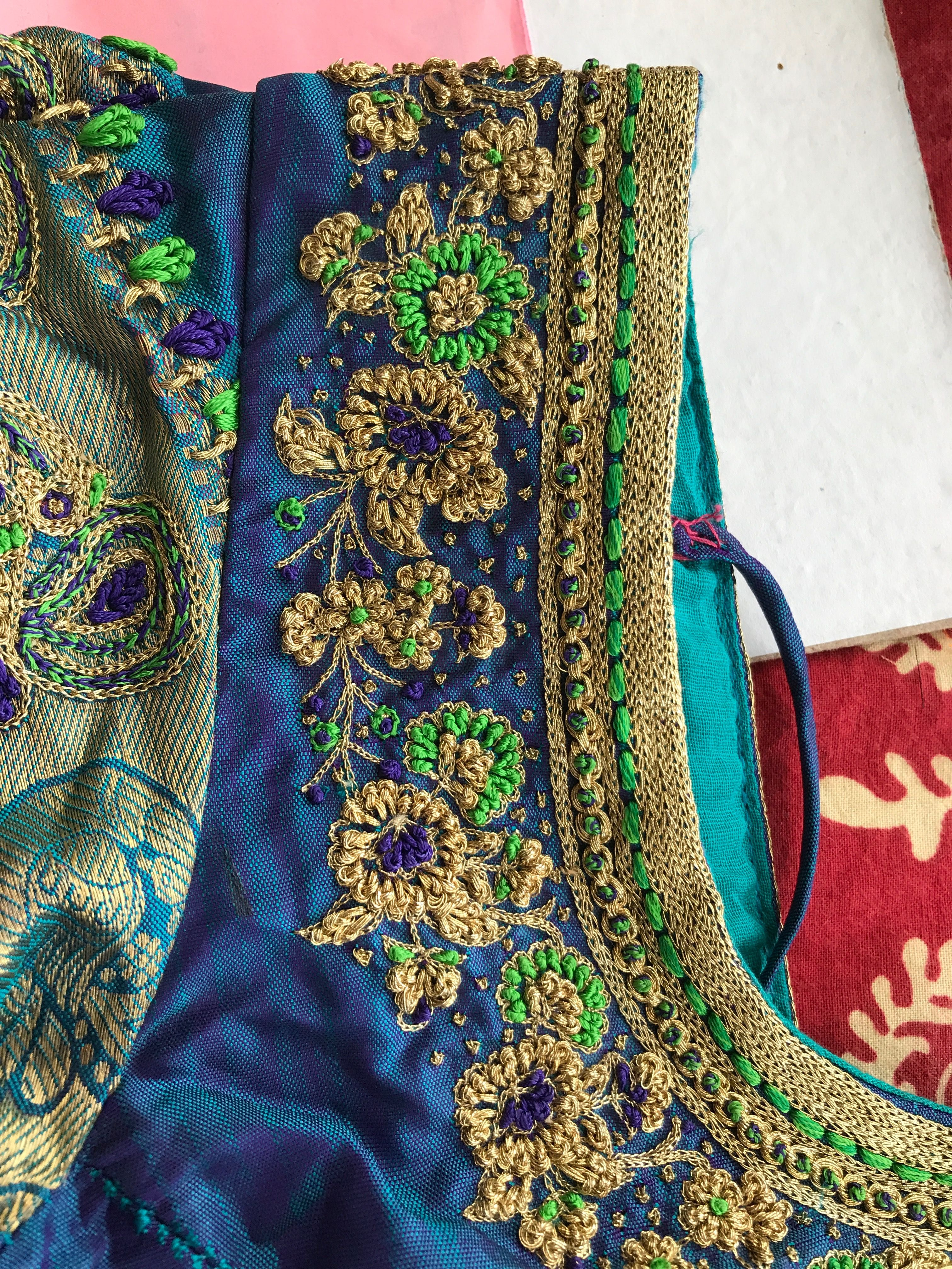 Pin by shaleen subbaiah on embroidery blouses pinterest blouse