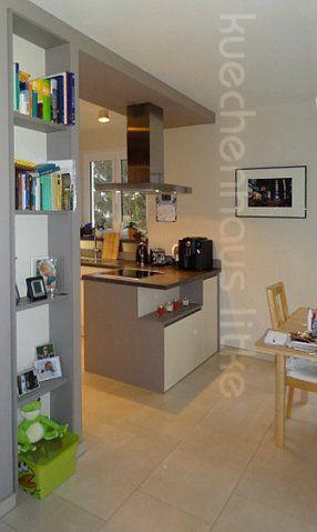 Kleine Küche mit Kochinsel Die Küche geht in Rahmenbauweise mit - kleine kuche im wohnzimmer