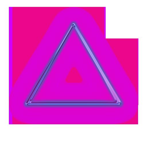 Tattoo Idea Neon Png Photoshop Digital Background Triangle