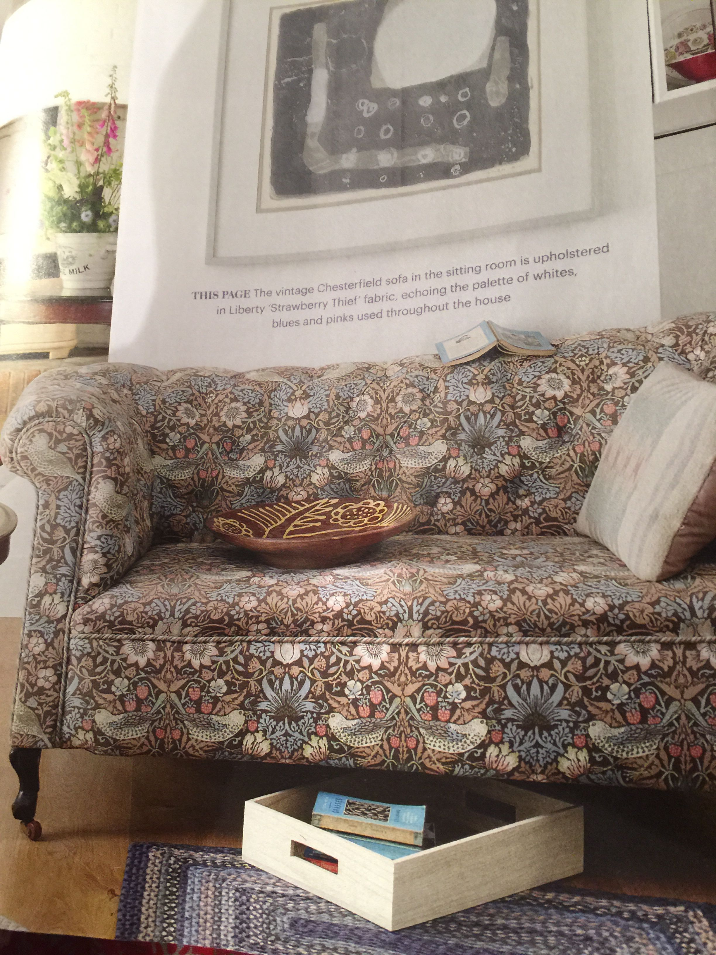 Superb From This Months Country Living Vintage Sofa Covered In Uwap Interior Chair Design Uwaporg