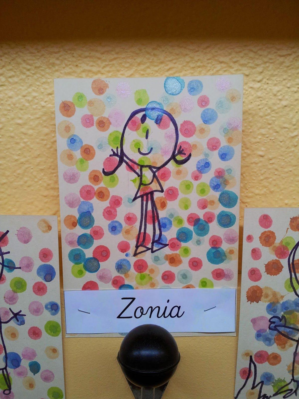 Bien-aimée La maternelle de Laurène: Les étiquettes de porte manteaux | Arte @JI_71