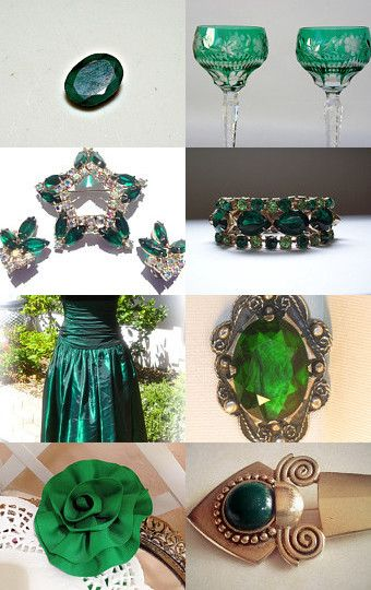 Emerald Green by Christine Behrens on Etsy--Pinned with TreasuryPin.com