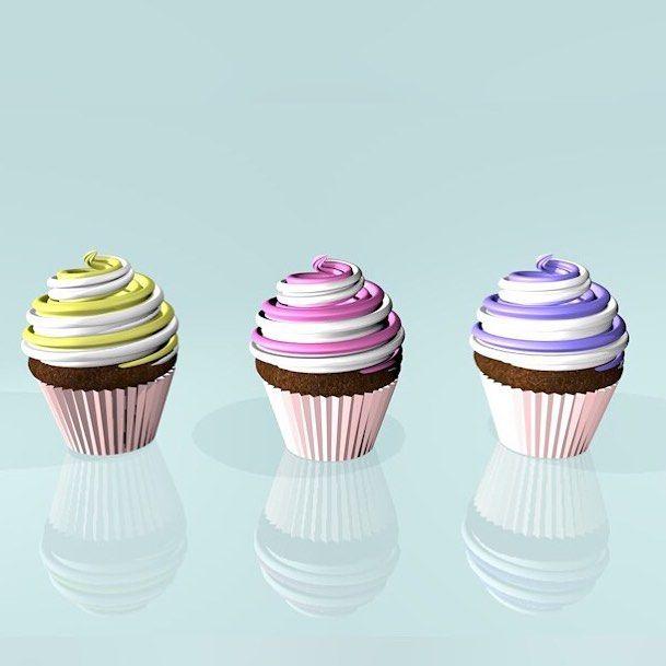 #cupcakes #cinema4d #C4D by jazlclark