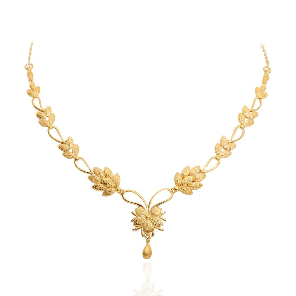 The yellow birch leaf gold necklace necklaces pinterest gold