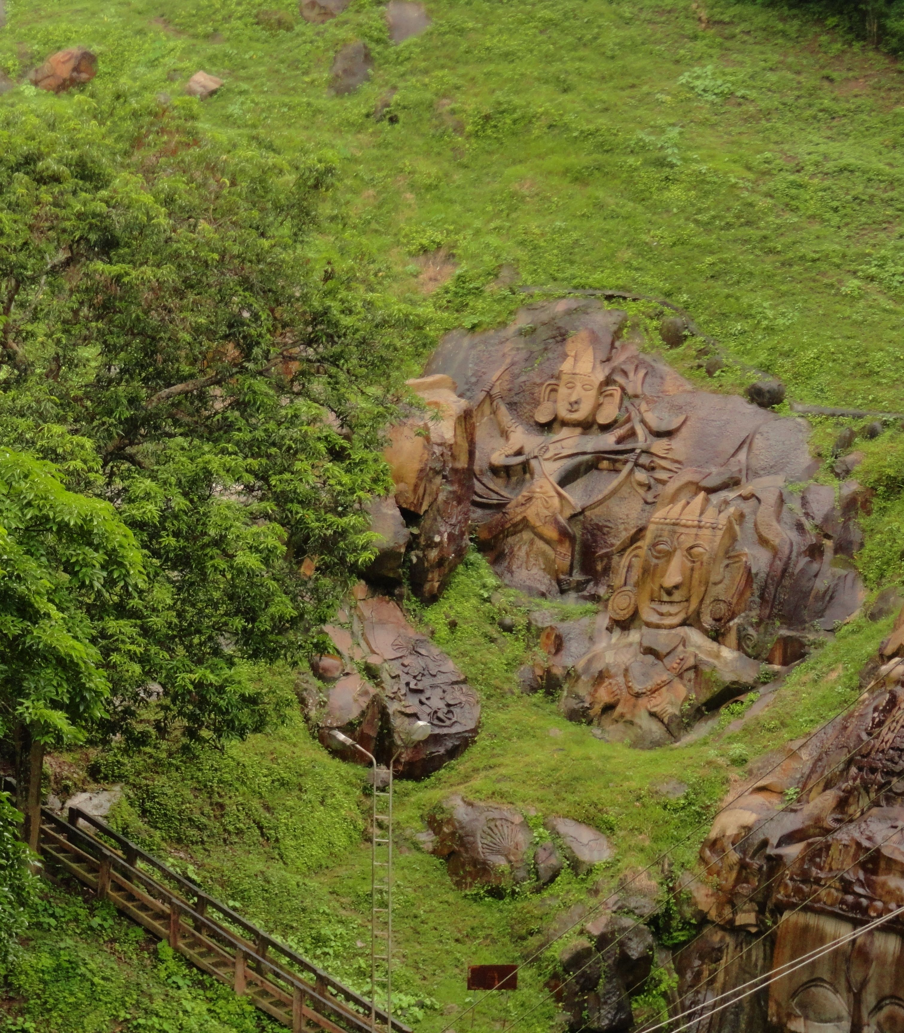 Unakoti Hill Literally Meaning One Less A Koti In