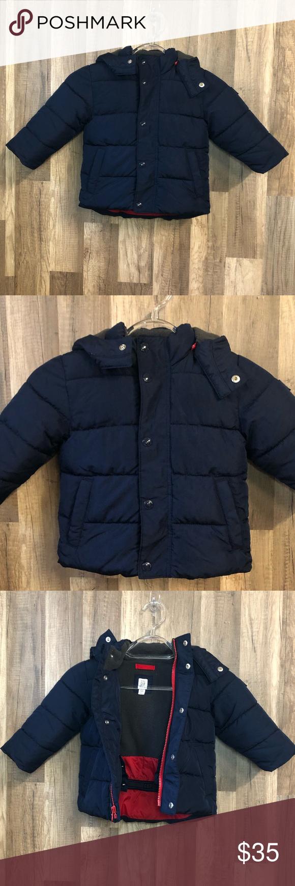 Gap Blue Max Control Puffer Coat 12 18 Months Puffer Coat Clothes Design Gap Jacket [ 1740 x 580 Pixel ]