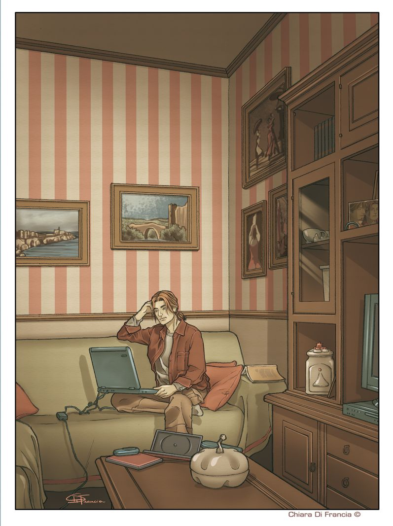 Art © Chiara Di Francia    - Affiche Novembre 2011 -  http://chiaradifranciailblog.blogspot.it/      ( blog that collects comics , illustrations , print and sketch /  blog qu'il recueille bandes dessinées , illustrations , etampes et croquis )