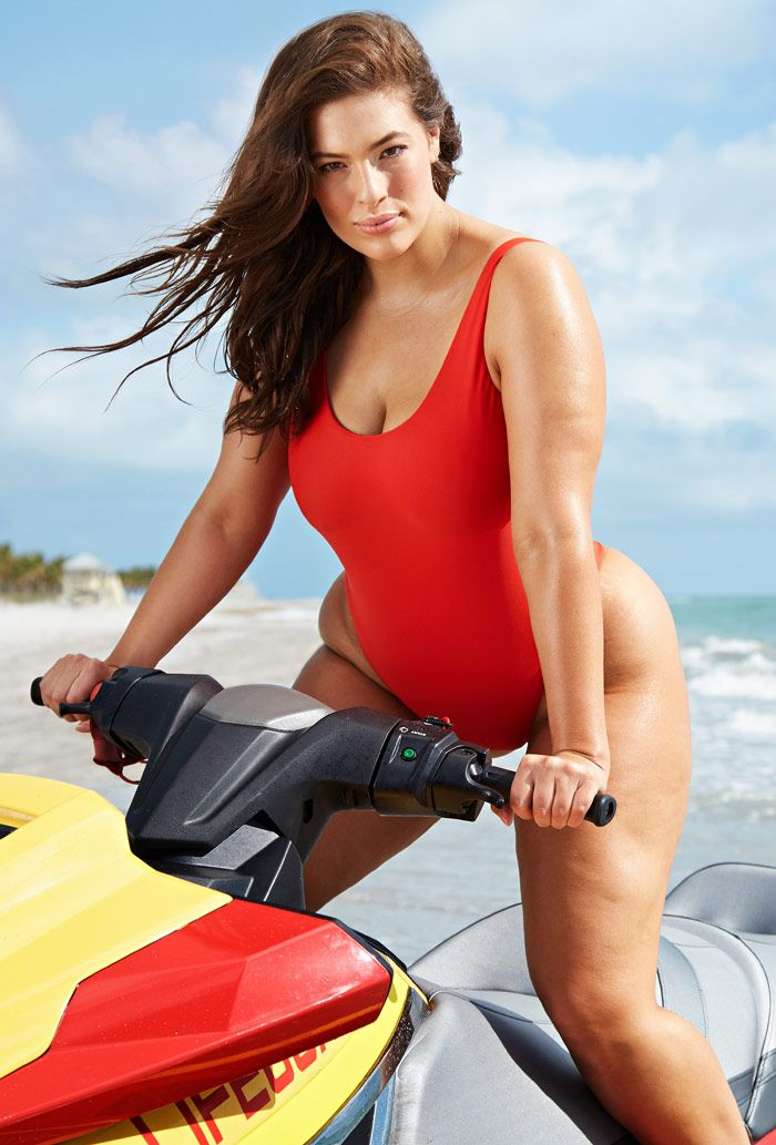 e8eec5e7de7 Swimsuitsforall Lifeguard Swimsuit (Baywatch swimsuit) Ashley Graham, Marie  Claire, Teyana Taylor,
