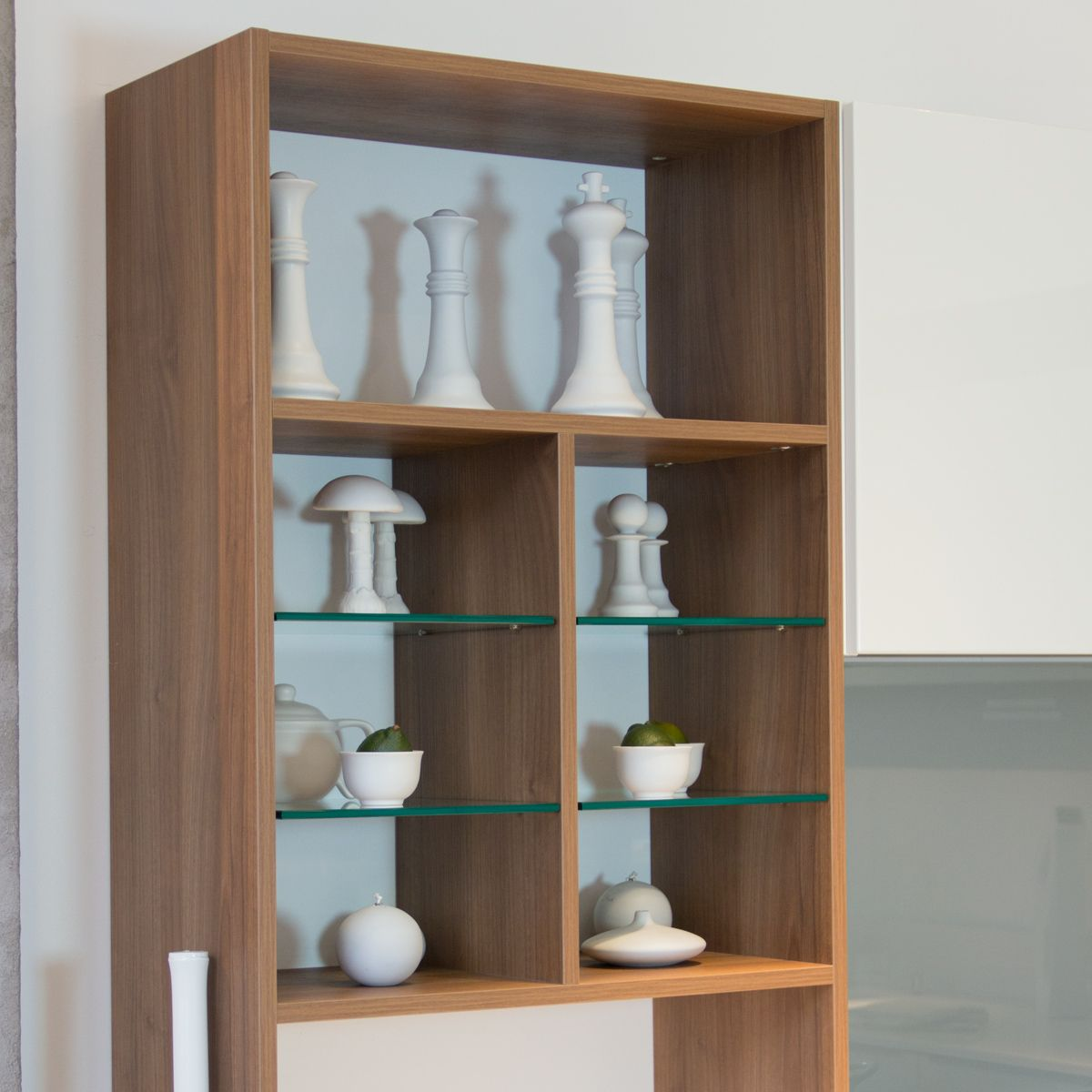 cuisine mobalpa paris tallys laqu blanc brillant meuble sur mesures couleur noyer cuisines et. Black Bedroom Furniture Sets. Home Design Ideas