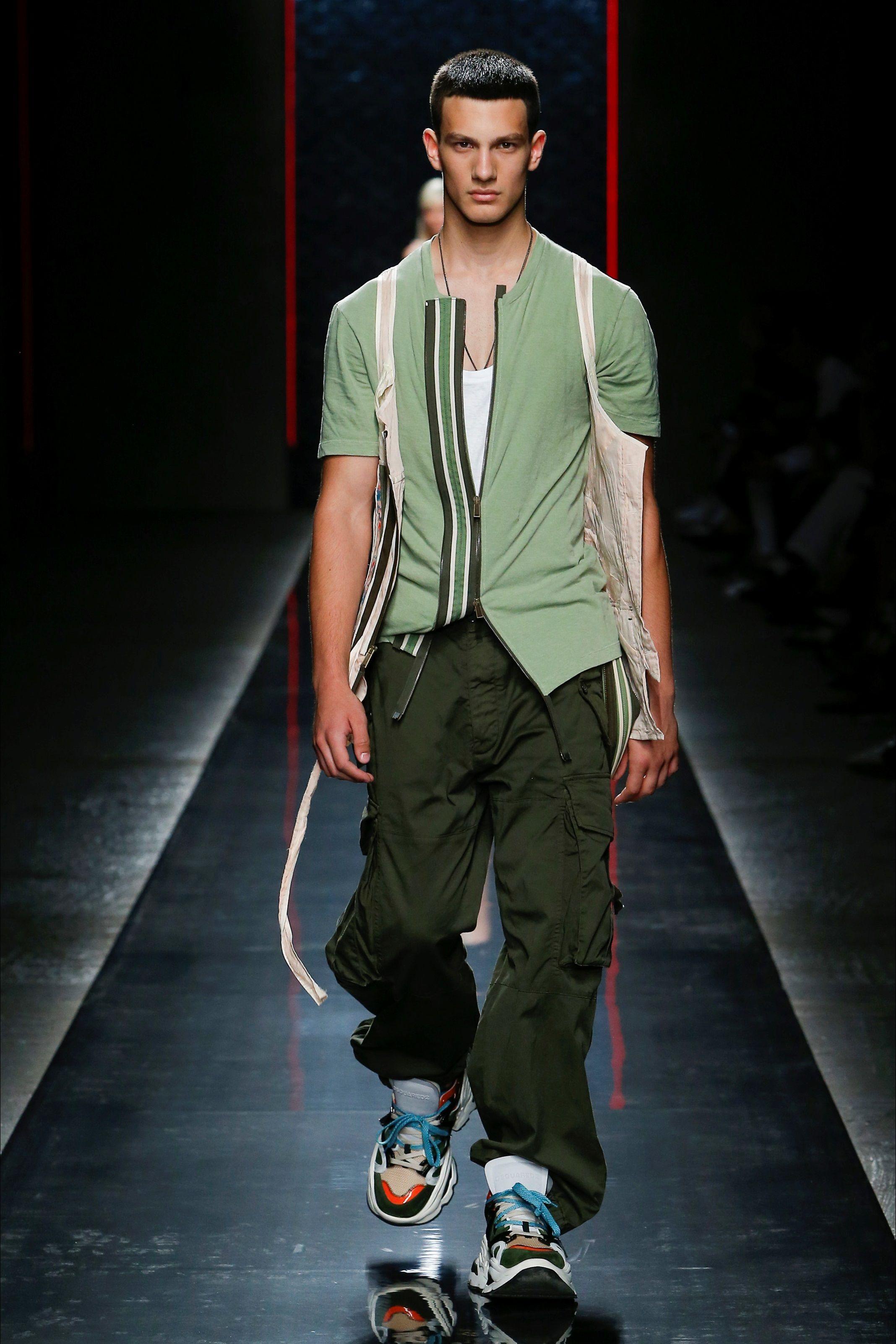 9605512c1bdf Sfilata Moda Uomo DSquared2 Milano - Primavera Estate 2019 - Vogue ...