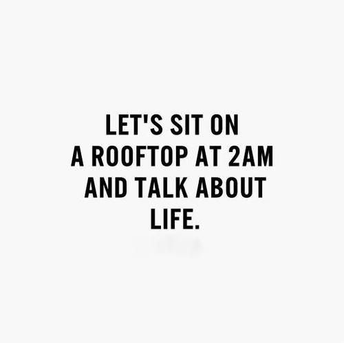 Rooftop Quotes Sweet Life And All Of Its Twist And Turns