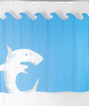 This Is Awesome A Jaws Shower Curtain... I Am Determined To Get This