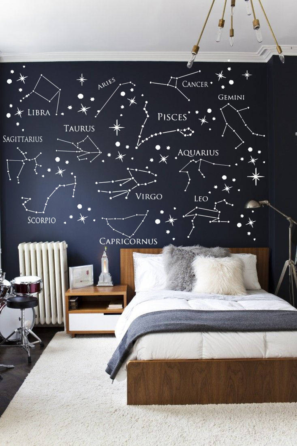Wall Decal Zodiac Constellation Virgo Decal Leo Decal Pisces Etsy Kids Bedroom Wall Decor Kids Bedroom Walls Wall Decor Bedroom