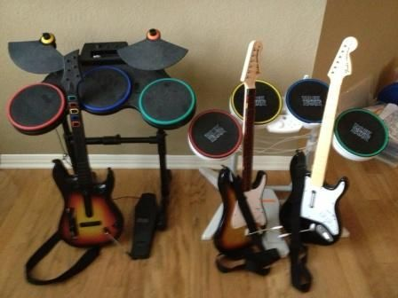 Best Wii Rock Band Set Rock Bands Wii Stationary Bike 400 x 300