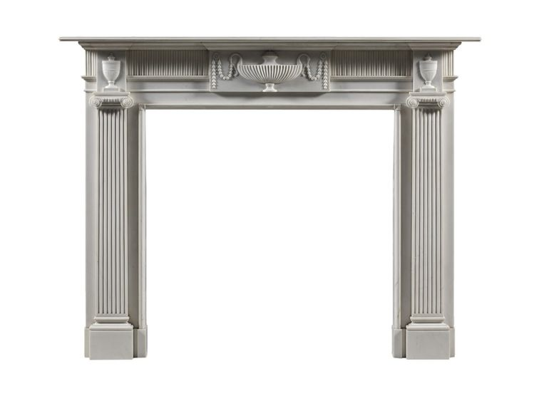The Stourton chimneypiece - Traditional Fireplace Elements