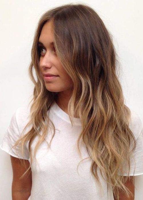 Gorgeous Layered Wavy Haircut Can You Believe That You Can Change Your Whole Hairstyle With Layering Long Hair Styles Balayage Hair Hair Styles
