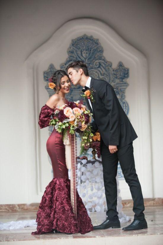 Red And Gold Spanish Wedding Ideas Wedding Dresses Simple Spanish Wedding Dress Wedding Dresses