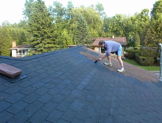 Engineered Diy Liquid Roof Paint Coating Sealer Sealant Roof Leak