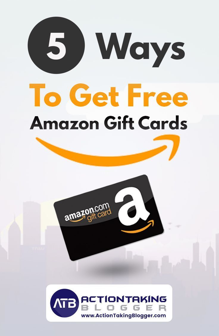 5 Ways To Get Free Amazon Gift Cards So You Can Buy
