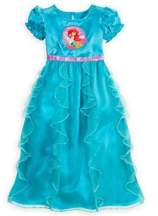 Disney s The Little Mermaid Ariel nightgown. Precious. It would make a  great Halloween or dress up costume 0429f1157