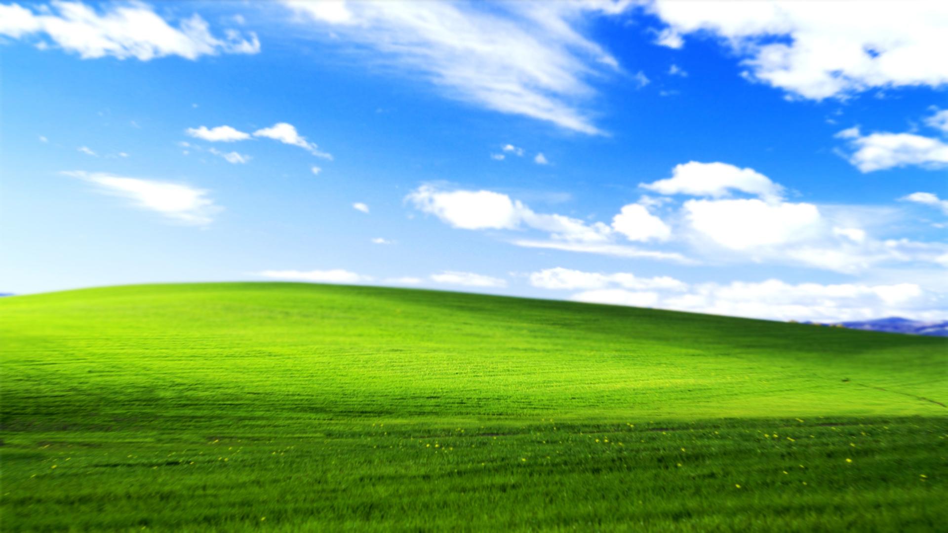 Обои Bliss, xp, windows. Windows