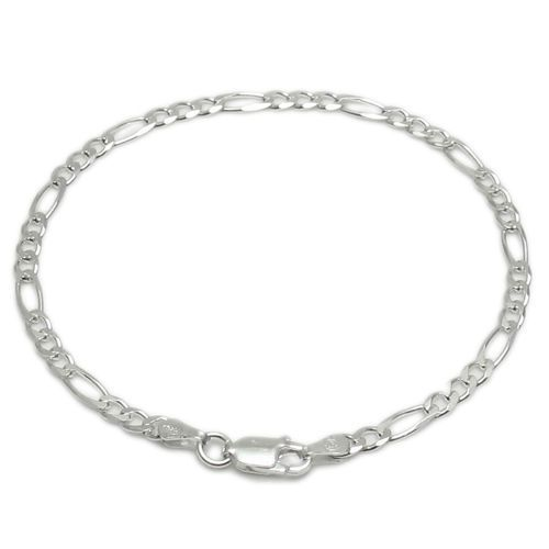 combo figaro photo wholesale silver classic products adjustable jewelry inch sterling beaded anklet bracelet chain bracelets ankle