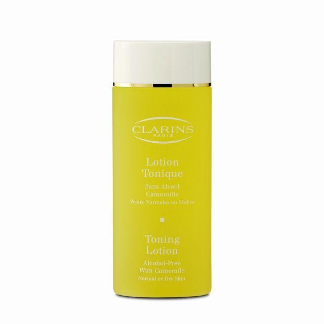 【ドライ~ノーマル肌用化粧水】クラランス   トーニングローション ドライ/ノーマル ***乾燥が気になる肌用の天然の多糖類やビタミン配合のノンアルコール化粧水です。 みずみずしい使い心地とアロマの香りも人気です。フレッシュなテクスチャーで肌はしっとり。