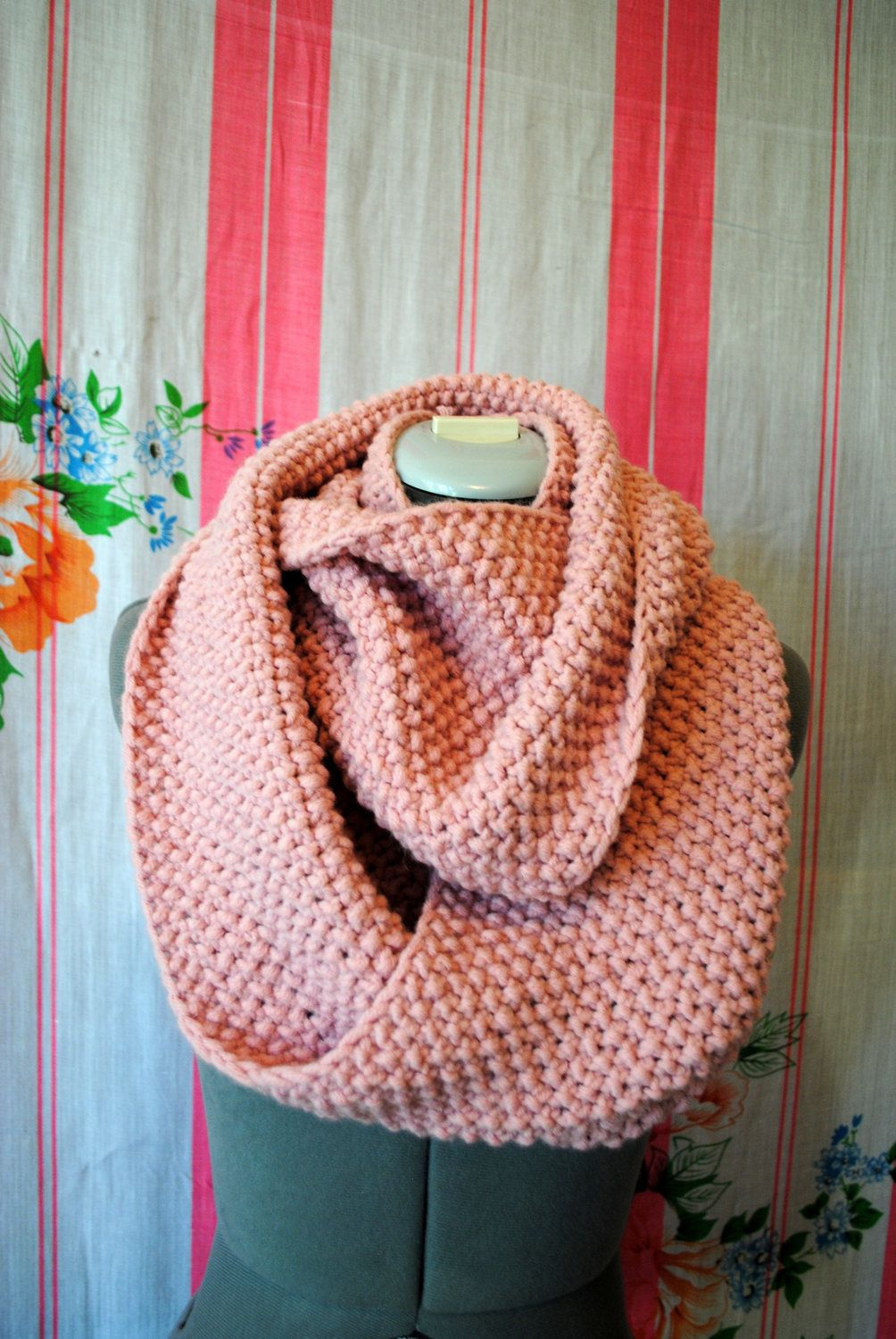 pin pinterest hot pink blocking belleboutiquenwa color knit at spring scarf infinity scarfs