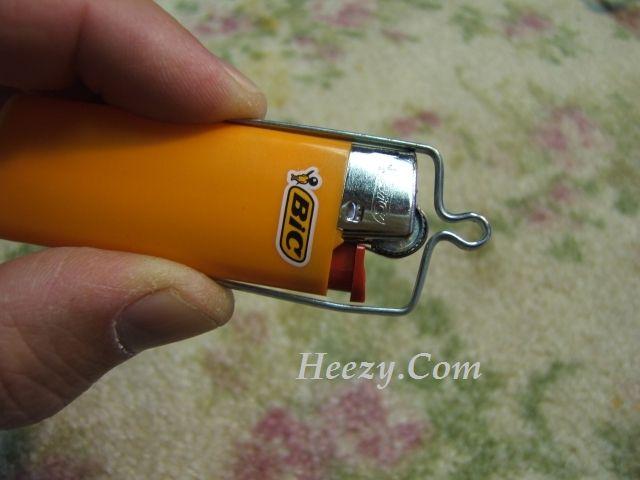 DIY Mini Bic Lighter waterproof - Sheath/Holder   bushcraft