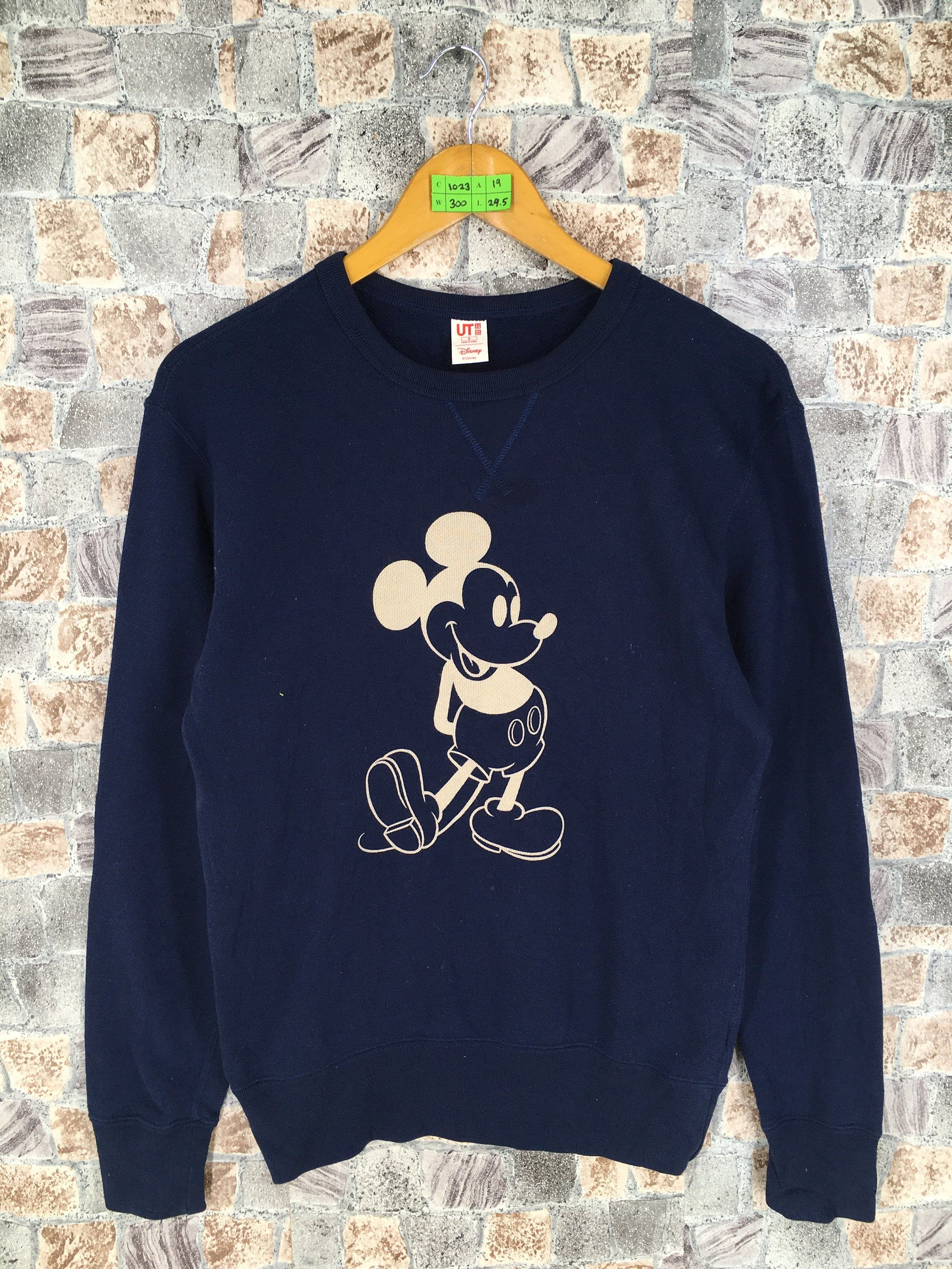 Vintage 90s Mickey Mouse Pullover Sweater Ladies Small Mickey Mouse Cartoon Dark Blue Jumper Walt Disney Mickey Cr Mickey Mouse T Shirt Sweatshirts Hoodie Girl [ 3000 x 2250 Pixel ]