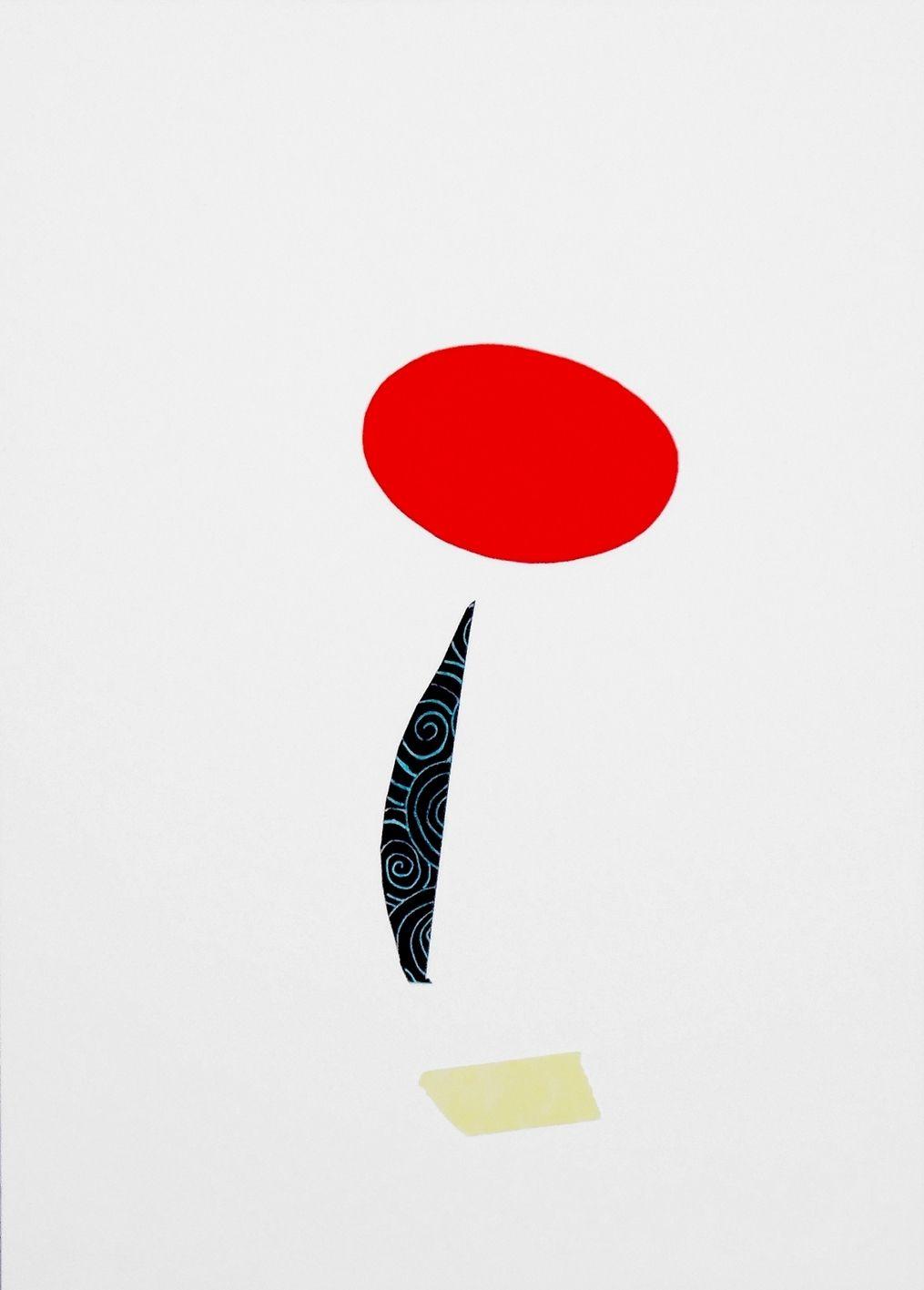 """andrea mattiello """"me"""" pennarello e collage su cartoncino cm 25x35; 2013 #arte #art #artecontemporanea #drawing #disegno #collage #paper"""