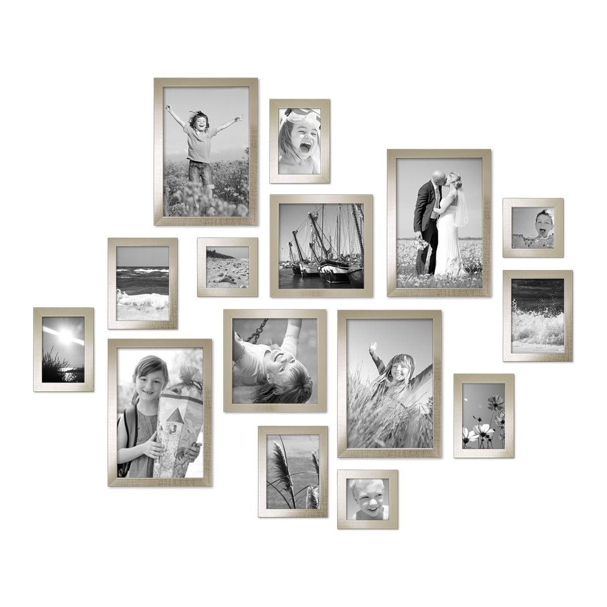 15er Bilderrahmen-Set Modern Silber | Design | Pinterest ...