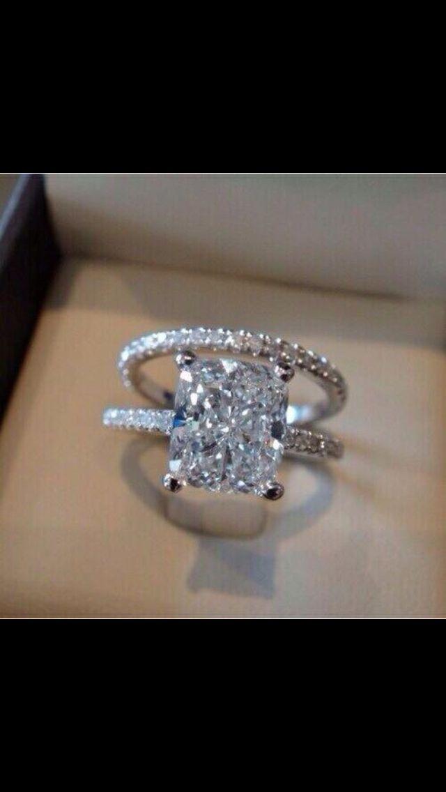 Custom Diamond Ring Wedding Classic Creative Timeless