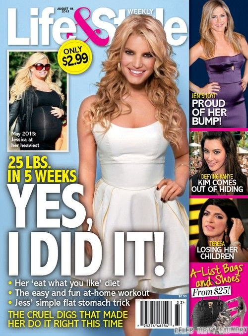 2493d9520dcd54 Jessica Simpson Dramtic Weight Loss After Baby - 25 Pounds In 5 Weeks!  (Photo)