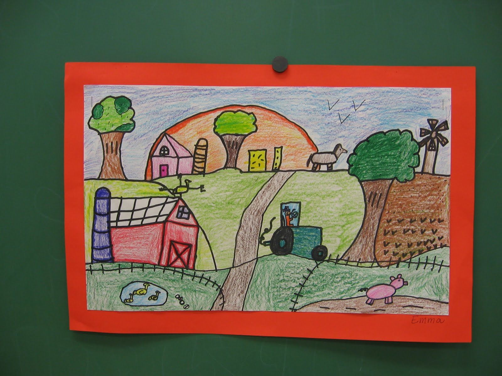 Grant Wood Landscape Art Lessons