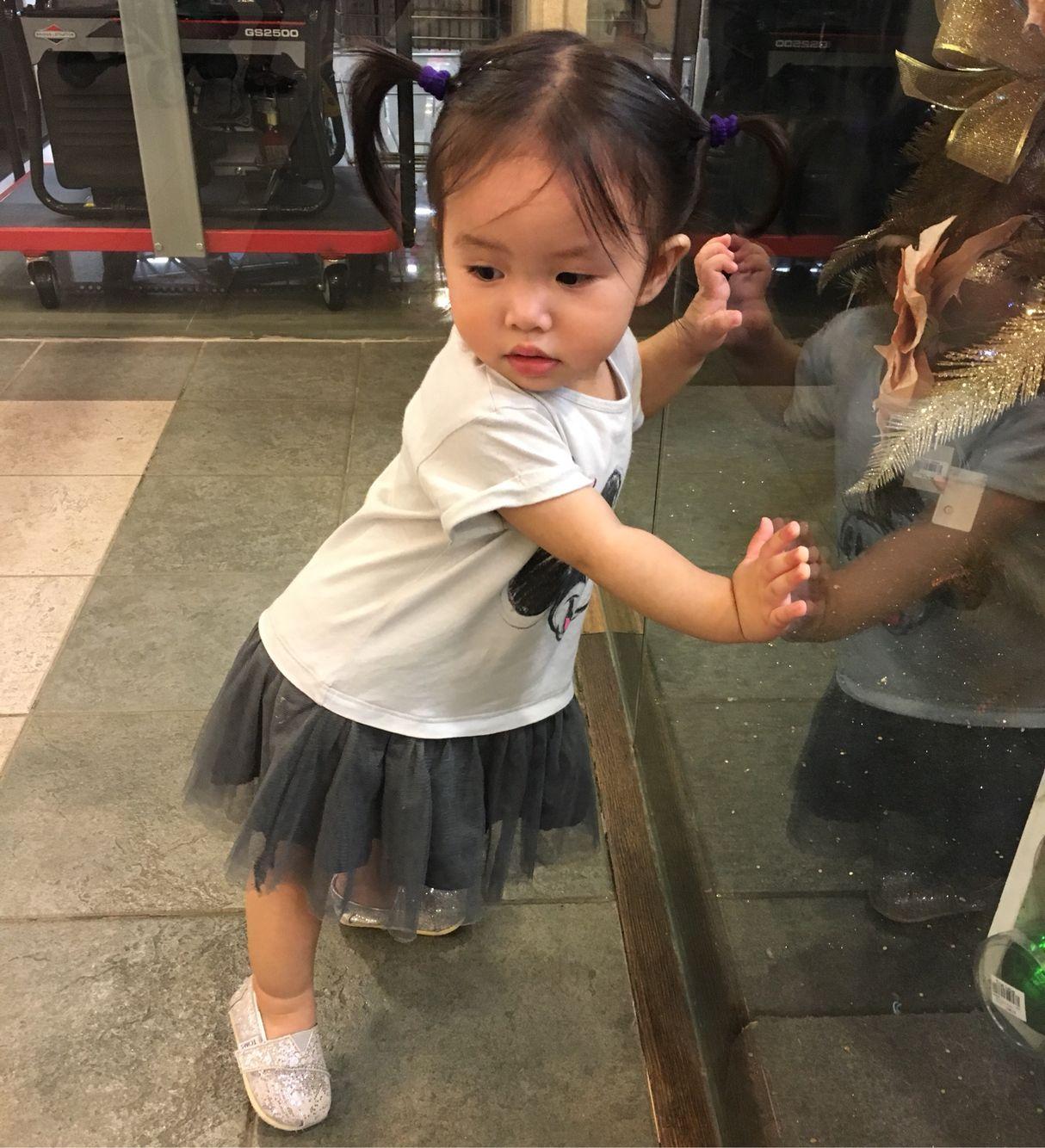 Is my foot pointy enough? #littleradgirl #ootd #fashionkids #kidsfashion