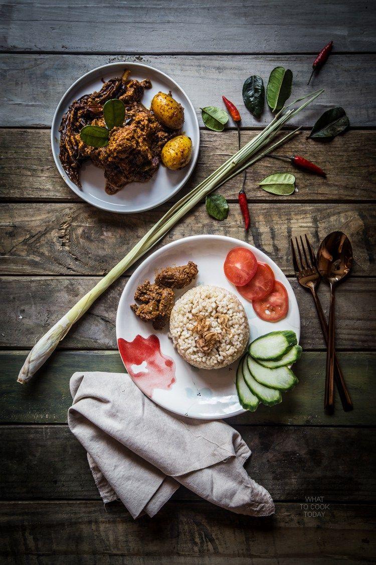 Indonesian Beef Rendang Makanan Minuman Resep Masakan Indonesia