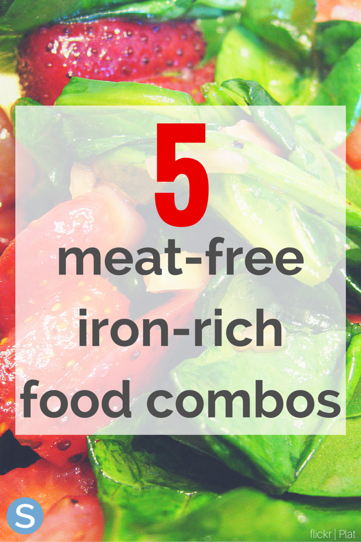 5 MeatFree, IronRich Food Combinations Iron rich foods