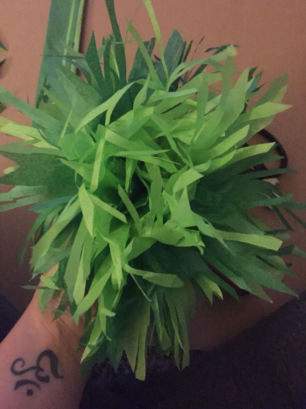 Tissue Paper Grass Paper Flowers Jungle Crafts