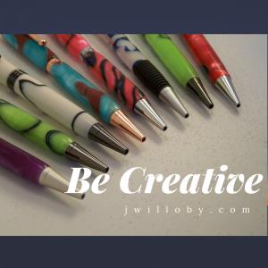 Why Be Creative   #creative #freelance writer #Stampin' Up! Demonstrator