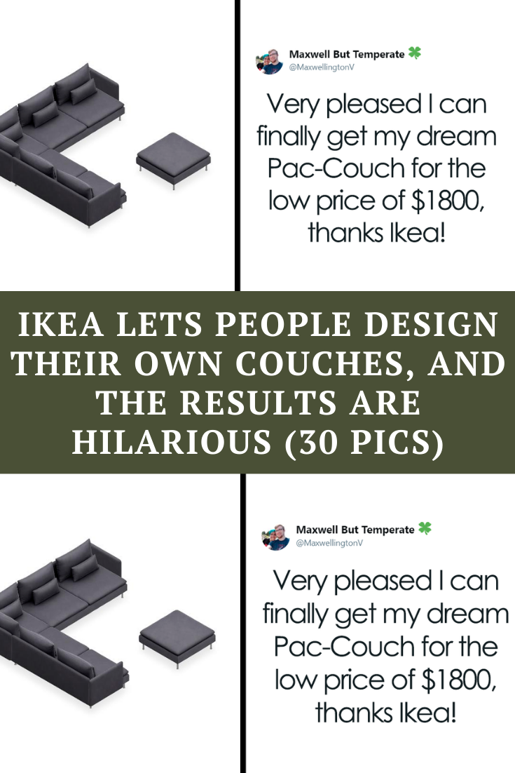 Ikea Lets People Design Their Own Couches And The Results Are