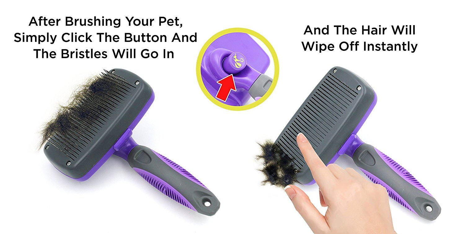 Hertzko Self Cleaning Slicker Brush *** Read more reviews